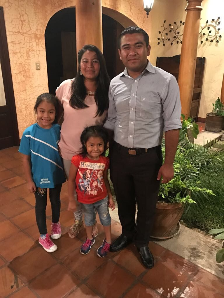 Ana Morales and Mario Soto have two girls, Alisson, 7, and Fernanda, 5.