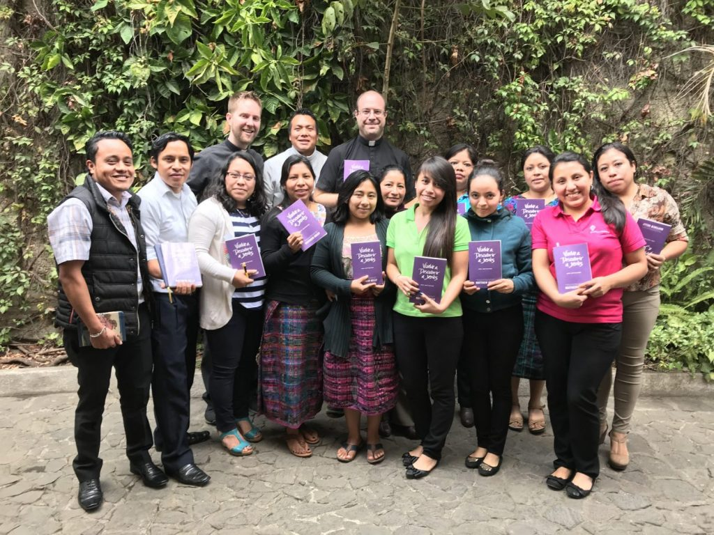 Father Daniel and Father Josh visited Escuela Integrada in January 2018