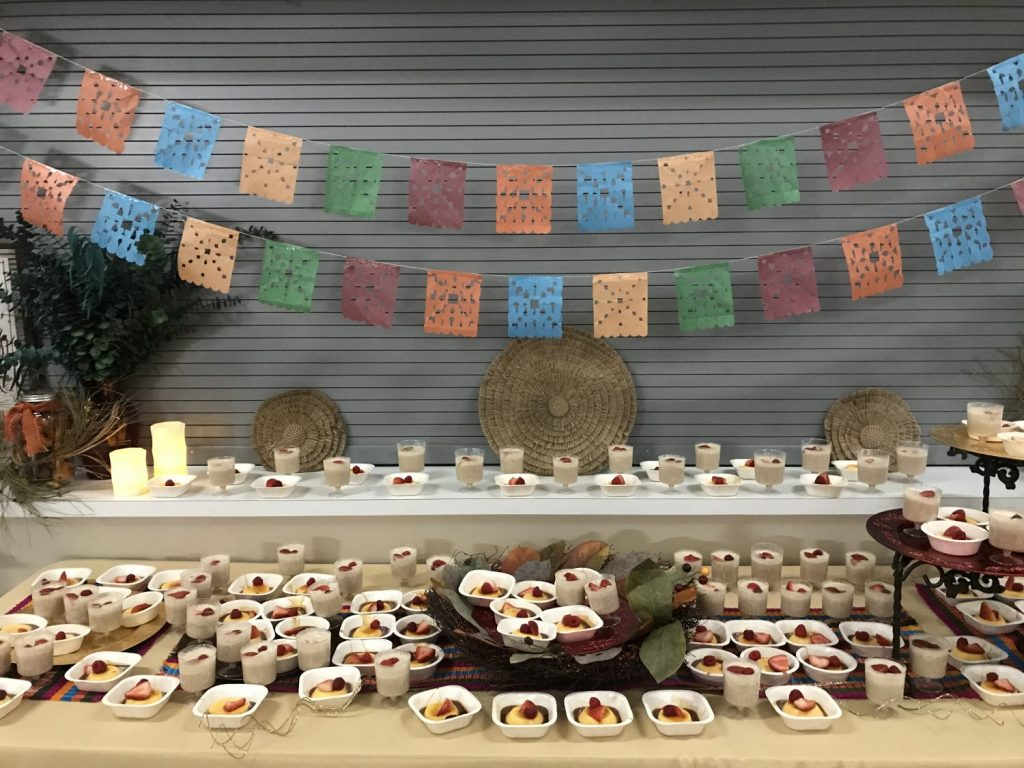 "St. Mary's parish in Bloomfield, New Mexico, hosted a benefit dinner in November of 2019. Attendees enjoyed a ""Latin fusion"" cuisine and bid on silent auction items, while learning about Escuela Integrada."