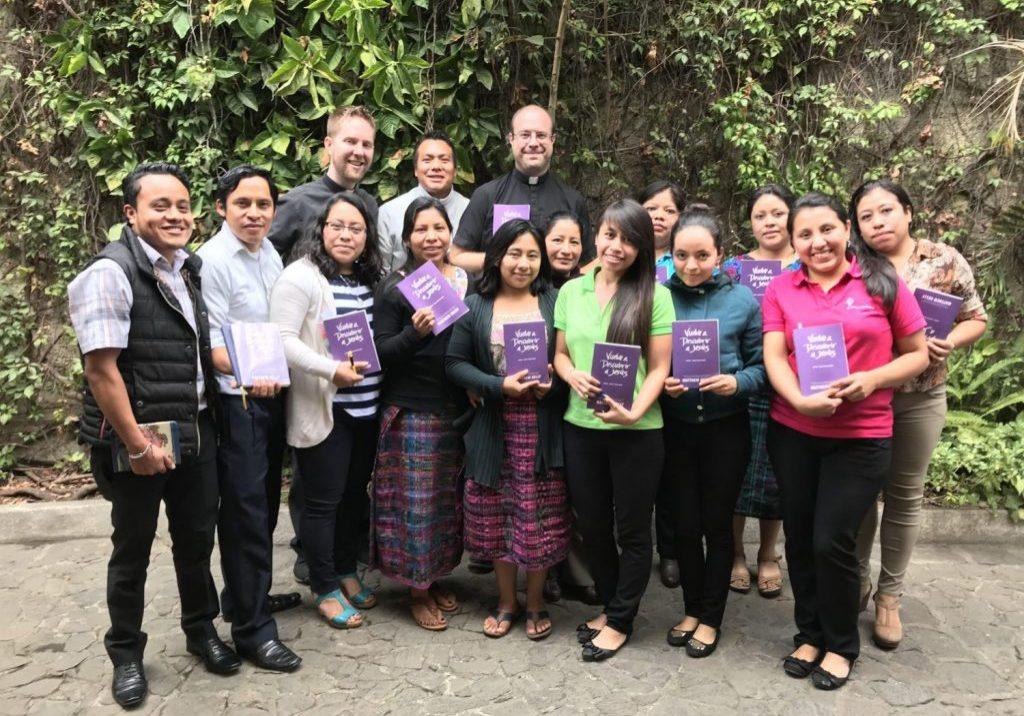 Father Daniel and Father Josh visited Escuela Integrada in January 2018